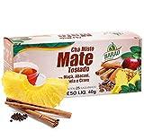 Barao Mate Tostado con manzana, clavo de piña y canela - 25 bolsitas de té mate de Brasil   Chá Mate Tostado com Maçã, Abacaxi Cravo e Canela 25 Saquinhos De Chá Brasil