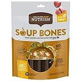Rachael Ray Nutrish Soup Bones Dog Treats, Turkey & Rice Flavor, 11 Bones, 23.1 Ounces