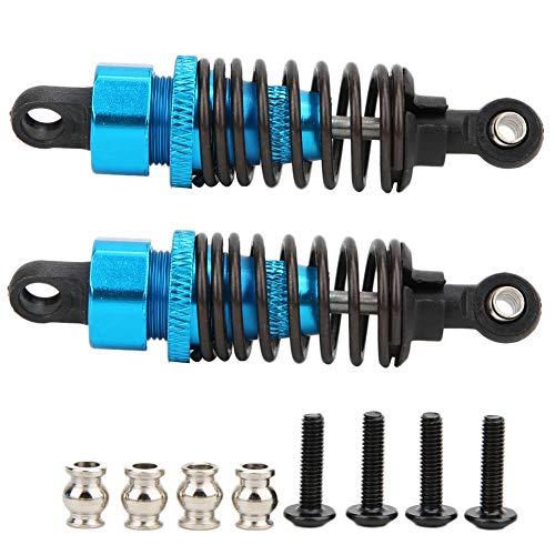 Dilwe RC Stoßdämpfer , 2 STK. Aluminiumlegierungsdämpfer Kompatibel für HPI RS4 Sport 3 1/10 RC Car(Blau)