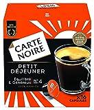Carte Noire Café Petit Déjeuner, Capsules Compatibles Dolce Gusto, 6 Paquets de 16 capsules (96 Capsules)