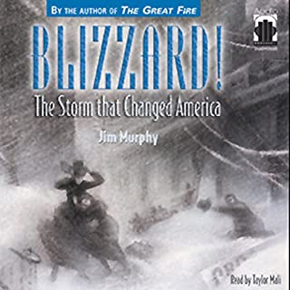 Blizzard! The Storm that Changed America audiobook cover art