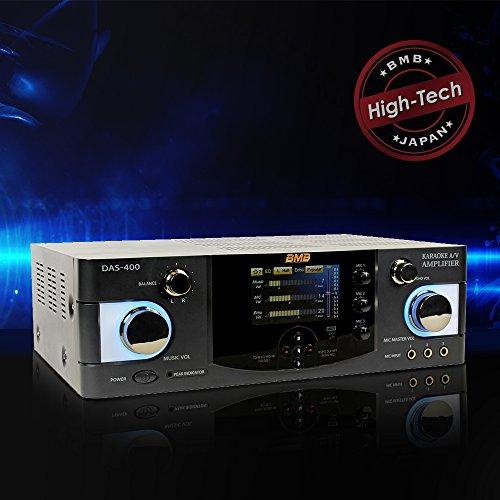 BMB DAS-400 600W 4 Channel Karaoke Mixing Amplifier