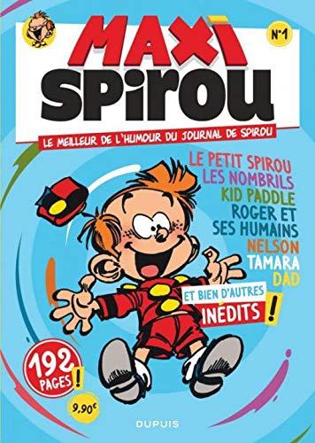 Maxi Spirou - tome 1 - Maxi Spirou - Spécial humour T1