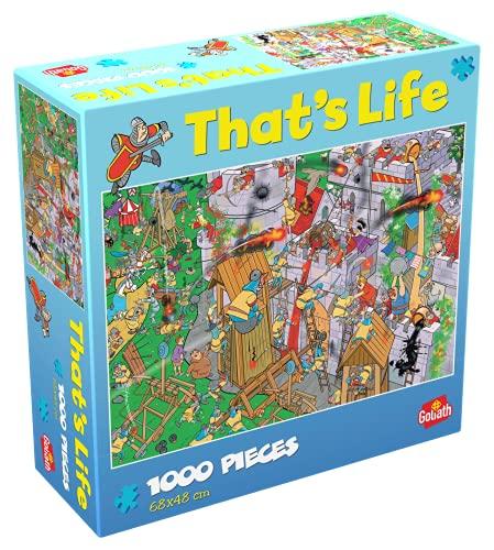 Goliath- Puzzle Castillo y Piratas That's Life, Multicolor (919263006)