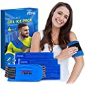 4-Count Featol Injuries Reusable Compress Therapy Gel Ice Pack
