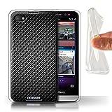 Stuff4 Gel TPU Hülle/Hülle für BlackBerry Z30 / Grau