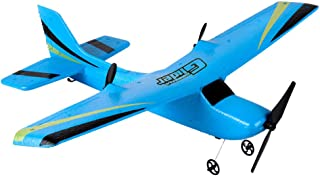 [RC Airplane] Dacawin Z50 2CH Gyro RTF Remote Control Glider 350mm Wingspan EPP Micro Indoor Upgraded Version RC Plane (Blue, Ship from US)
