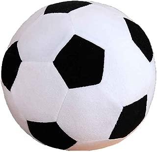 Xuanhemen Cartoon Soccer Ball Pillow Stuffed Plush Baby Football Soccer Sports Toy Gift for Toddler Kids Adults