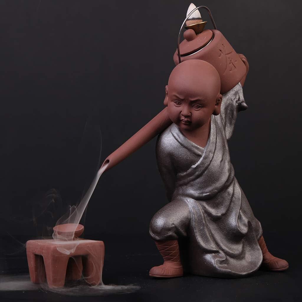 NYKK Incense Burner Tea Art New arrival Incens Backflow Pot Spout Decoration Department store
