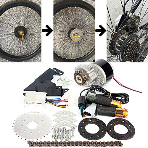 L-faster 24V36V250W Electric Conversion Kit for Common Bike