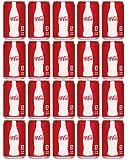 Coke Mini Cans, 7.5 Oz, Pack of 20