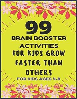 99 BRAIN BOOSTER ACTIVITY FOR KIDS: 99 OF FUN GAMES AND ACTIVITIES TO SUPPORT KINDERGARTEN SKILLS (My Workbooks)