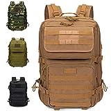 Armybag® | Wasserdichter Outdoor Rucksack Beige - 45-47 Liter Volumen - Militär Rucksäcke - Reise...