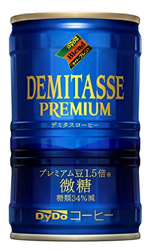 デミタス微糖 150g×30本 缶