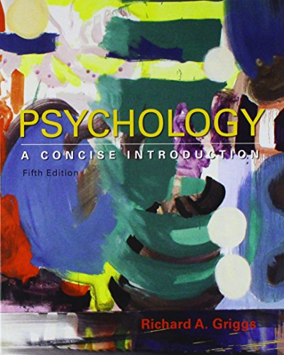 Psychology: A Concise Introduction 5E & LaunchPad for Psychology: A Concise Introduction 5E (Six Month Access)
