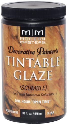Modern Masters DP608-32 Tinting Glaze Scumble, 32 Fl. Oz (Pack of 1) - Packaging May Vary
