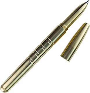 machine era brass pen