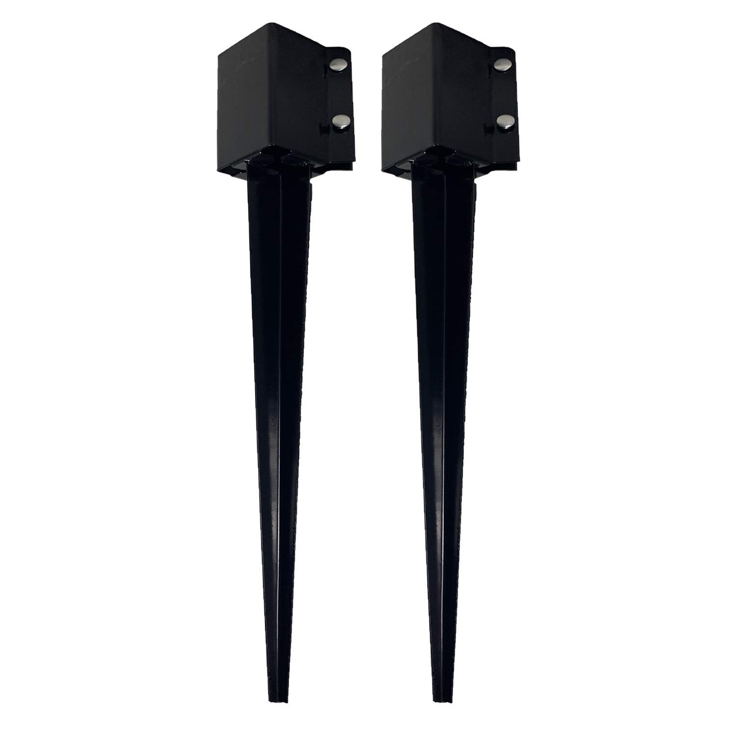 Deck Posts Ideal for securing Mailbox Posts Gazebo Posts 3.25 x 3.25 Inches Wide 1 Pack Ashman Fence Post Anchor 30 Inches Tall Street Lamps and More