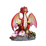 Pacific Giftware Apple Garden Dragon by Stanley Morrison Home Decor Statue
