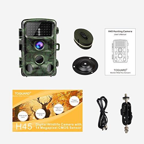 TOGUARD 14MP 1080P Trail Cam
