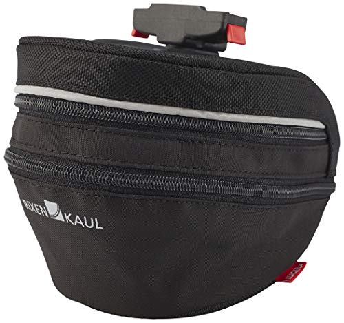 KlickFix Farradtasche Micro Sport 200 Expandable Farradtasche, schwarz