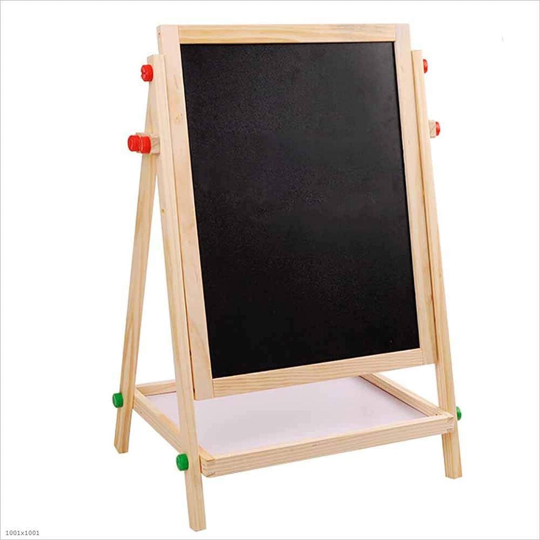 online al mejor precio MOOMDDY Y Caballete de Madera de de de Doble Cochea giratoria de elevación de la educación de los Niños de Aprendizaje del Tablero de Dibujo blancoo y Negro  ventas en linea