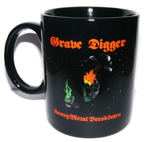 Grave Digger - Tasse *Heavy Metal Breakdown* - Kaffeetasse