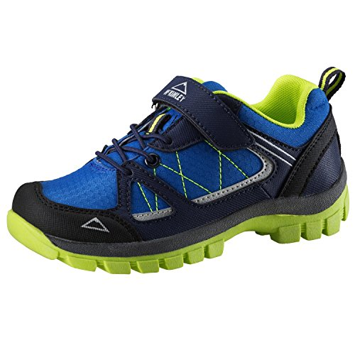McKINLEY Unisex-Kinder Multifunktionsschuh Maine Trekking- & Wanderhalbschuhe, Blau (Royal Blau/Lime Grün 000), 28 EU