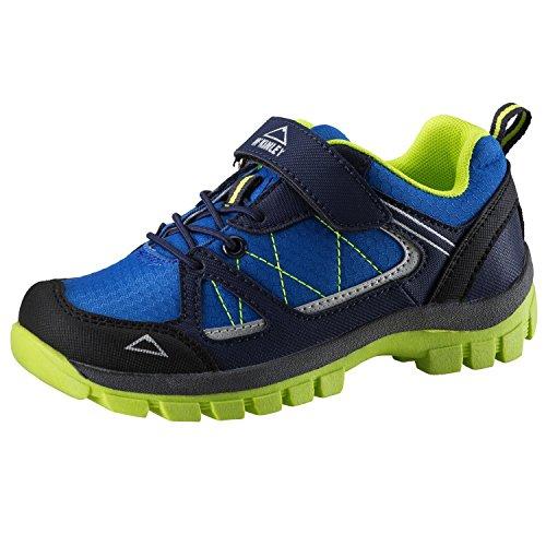 McKINLEY Unisex-Kinder Multifunktionsschuh Maine Trekking- & Wanderhalbschuhe, Royal Blau/Lime Grün...