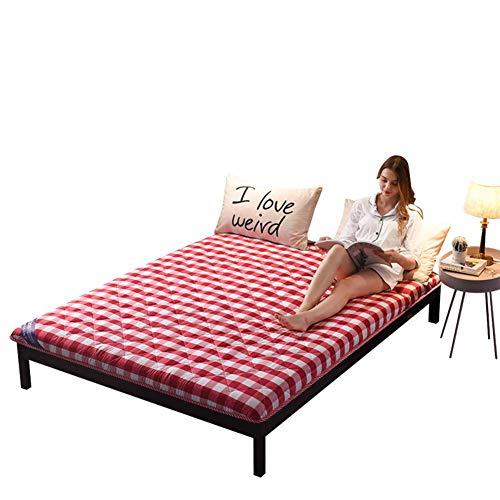 jhgsdh Colchón de futón japonés, tapete de Tatami Grueso, colchón de Camping...