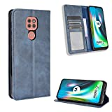 Hongjian Case for Custodia per Motorola Moto G9 Play Flip