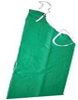 Tingley A41008 Safetyflex PVC on Polyester Acid Apron, Standard, Green