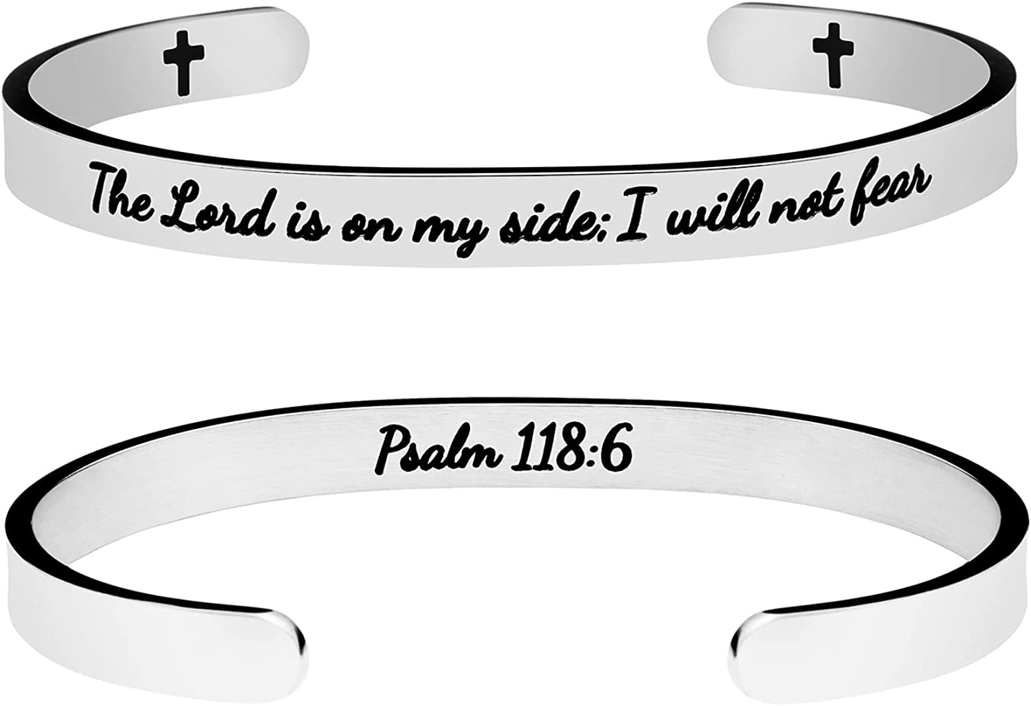 Christian Gifts for Women Bracelets for Men Inspirational Religious Jewelry with Bible Verse Christ Prayer