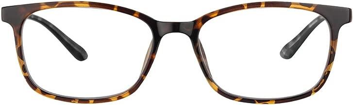 Gechiqno Blue Light Blocking Glasses for Women Non Prescription Clear Lens Tortoise Shell Eyewear Computer Reading Eyeglasses Anti Eyestrain Gift for Students Office Workers Tortoise