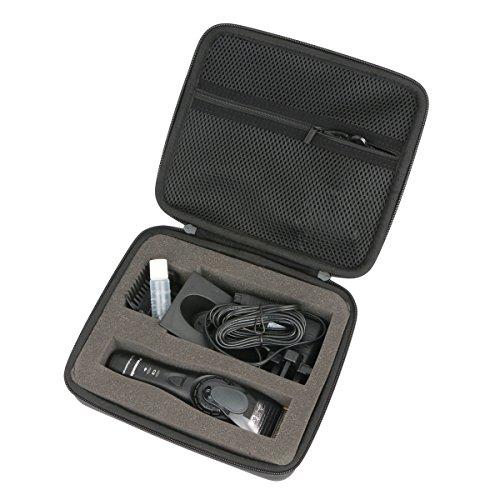 Khanka Tagliacapelli EVA Borsa da viaggio Custodia caso scatola per Panasonic ER-GP80/ER-DGP82/ER-GB80.