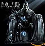 Songtexte von Immolation - Majesty and Decay