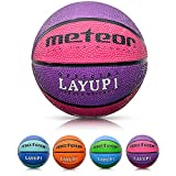 Balón Baloncesto Talla 1 Pelota Basketball Bebe Ball Infantil Niño Balon Basquet - Baloncesto Ideal para los niños y jouvenes para Entrenar y Jugar - Tamaño 1 Layup (#1, Rosa)