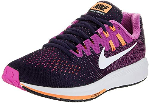 Nike Damen Air Zoom Structure 20 Laufschuhe, Mehrfarbig...