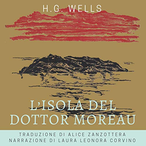 Couverture de L'isola del dottor Moreau [The Island of Dr. Moreau]