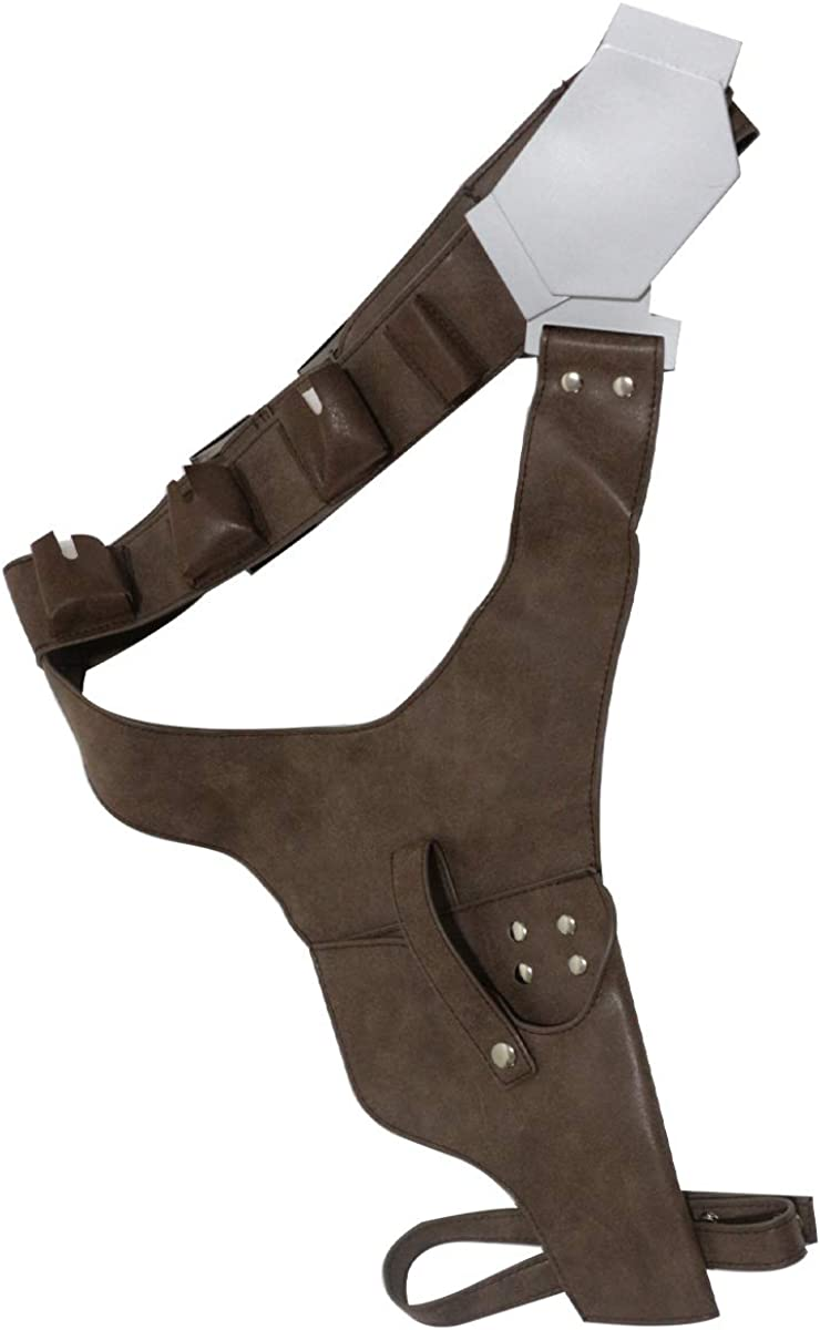 Mens Holster H-Solo Belt Cosplay Porps For Halloween Costume