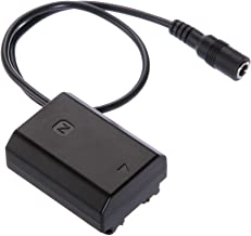 Foto4easy NP-FZ100 Dummy Battery DC Coupler for Sony ILCE-9 ILCE-7RM3 7M3 A9 A7RIII A7III