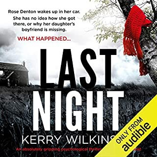 Last Night audiobook cover art