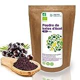 Detox Organica Acai En Polvo Bio 100g - 100% Vegetariano y Sin Gluten