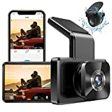 AUTOWOEL Dash Cam Built in WiFi GPS, FHD 1080P Dash Cam Front and Rear Camera with 3' IPS Screen, 310°Dual Dash Cam, WDR, HDR, Night Vision, Reverse Mode, G-Sensor, Parking Monitor, Loop Recording