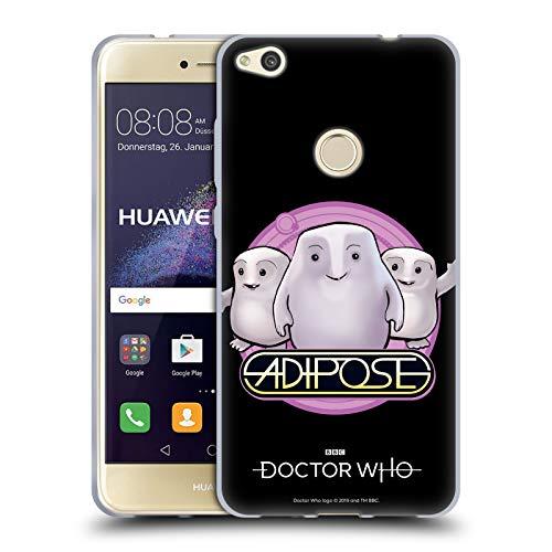 Head Case Designs Oficial Doctor Who Adiposo Villanos clásicos Carcasa de Gel de Silicona Compatible con Huawei P8 Lite (2017)