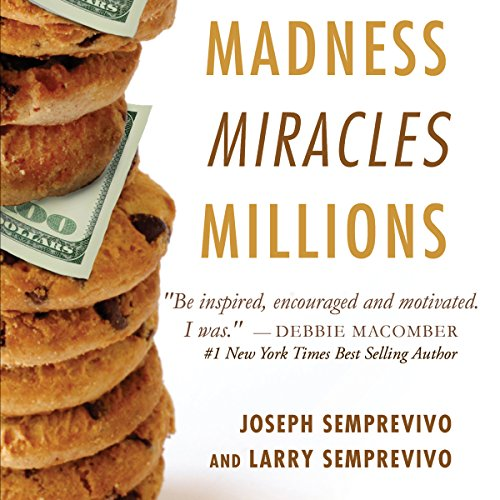 Madness, Miracles, Millions audiobook cover art