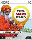 Maps plus. Fascicolo-Atlante-Preparazione esame. Per la Scuola media. Con e-book. Con espansione online (Vol. 3)
