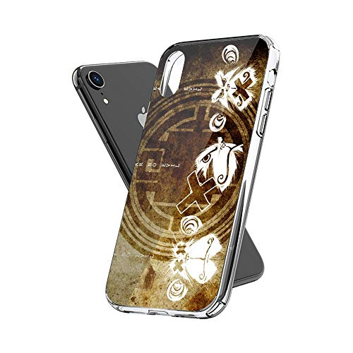 Case Phone Anti-Scratch Cover Creature Animal Three Wise Monkeys Animals (6.5-inch Diagonal Compatible with iPhone Xs Max)