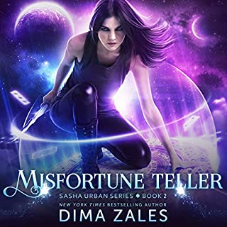 Misfortune Teller     Sasha Urban Series, Book 2              Written by:                                                                                                                                 Dima Zales,                                                                                        Anna Zaires                               Narrated by:                                                                                                                                 Emily Durante                      Length: 8 hrs and 28 mins     Not rated yet     Overall 0.0