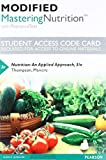 Modified Mastering Nutrition with MyDietAnalysis with Pearson eText -- Standalone Access Card -- for Nutrition: An Applied Approach